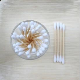 Bambusové vatové tyčinky 100ks