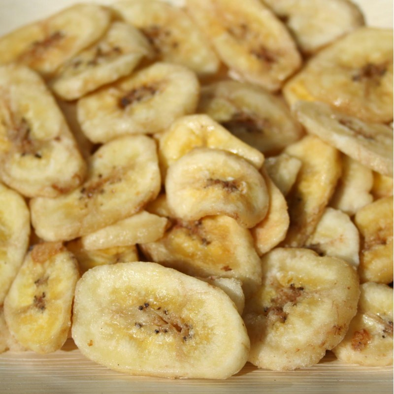 Banánové chipsy medové