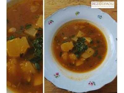 Jesenná Hokkaidová polievka