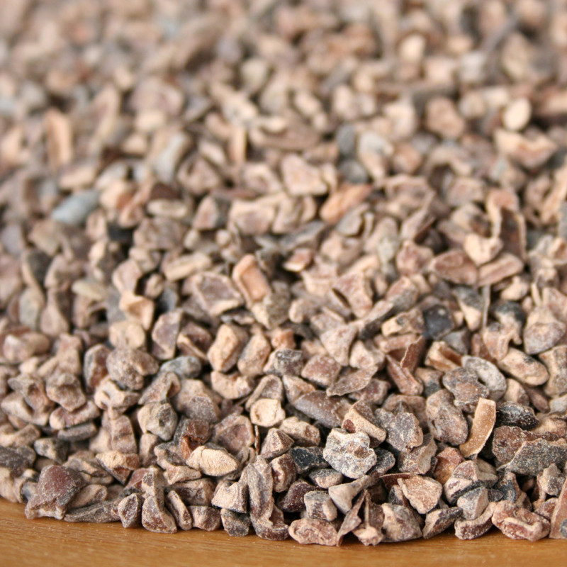Kakaové zlomky pražené