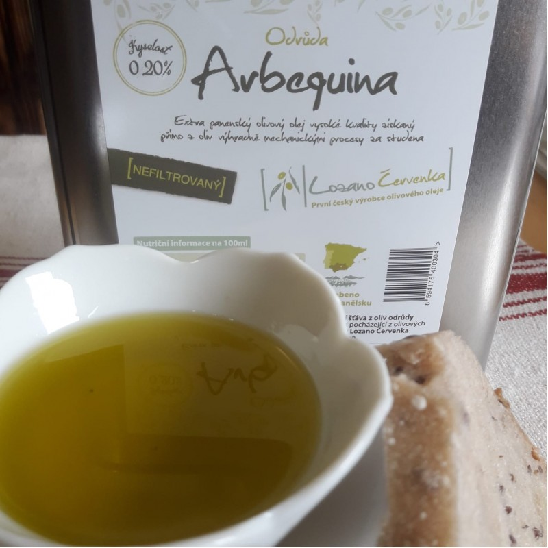 Olivový olej extra panenský 2L Nefiltrovaný