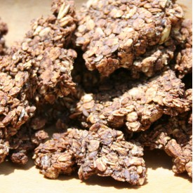 Ovsené kakaové domáce musli