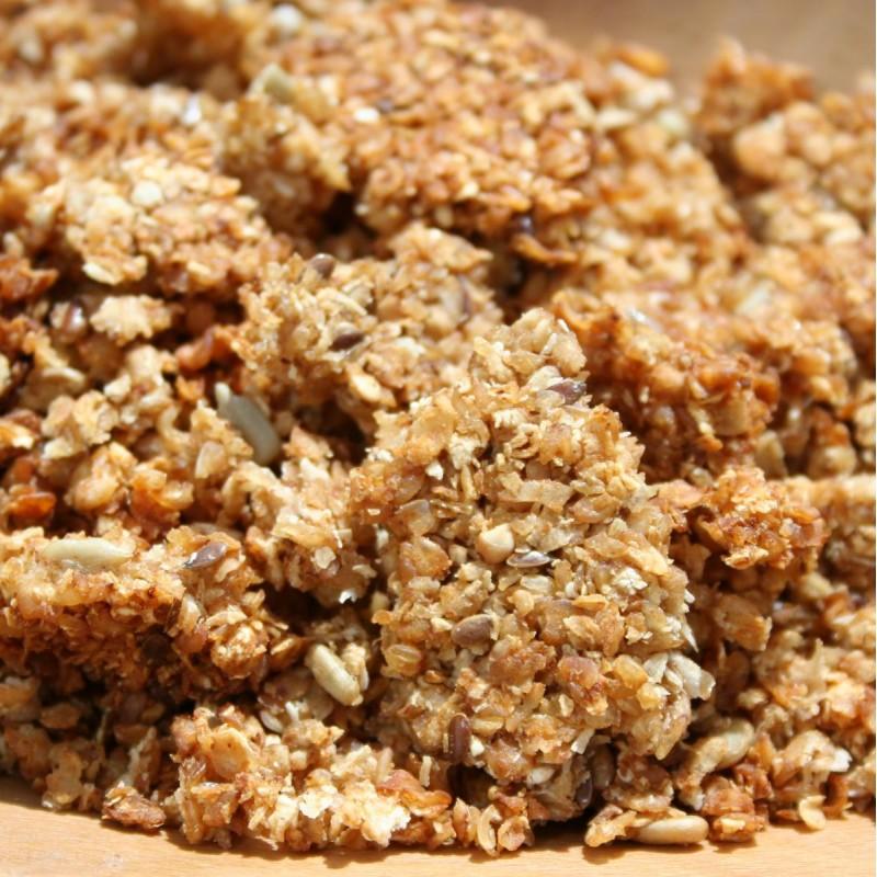 Pohánkové tradičné domáce musli bez cukru