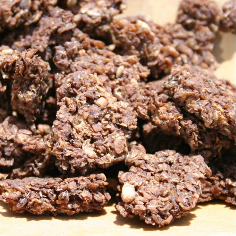 Pohánkové kakaové domáce musli