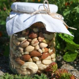 Orechový pohár Veverička