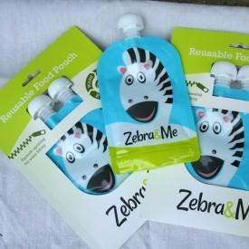 Kapsička na jedlo Zebra & Me